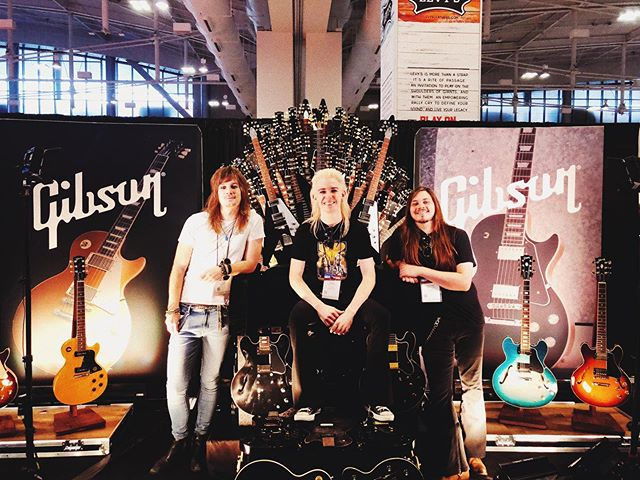 "Our first Summer NAMM was an awesome experience!  Gear heaven, baby! 💸😍😇 Looking forward to releasing the new ""Communication"" music video at 9:00am CST tomorrow, then jumping on stage with @theerocknrollresidency that night!  Fun times ahead.. 😉❤️ . . . . . . #kaato #rocknroll #glamrock #music #rockband #musicvideo #hardrock #newmusic #single #nashvillerocknrollers #makingmusic #slamthealbum #gearseven #newalbums #nashvillemusicscene #goodthanksnice #nashvillemusicians #comingsoon #nashvillemuisclife #newalbum2019 #nashvillerocks #newvideo #theerocknrollresidency"