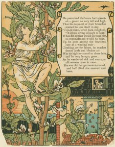 Jack and the Beanstalk by Walter Crane