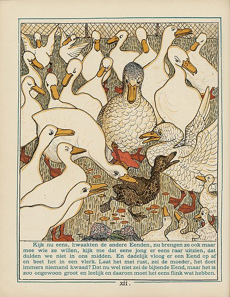 The Ugly Duckling Theo van Hoytema 1893