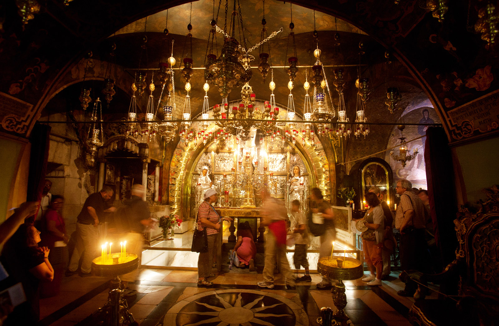 church of the holy sepulchre, christian quarter, old city jerusalem