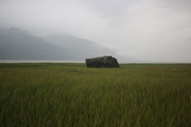 Prayer for a Rock by a River,  Haines, Alaska