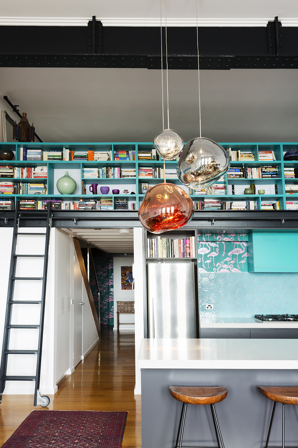 Tom Dixon lights kitchen design melbourne