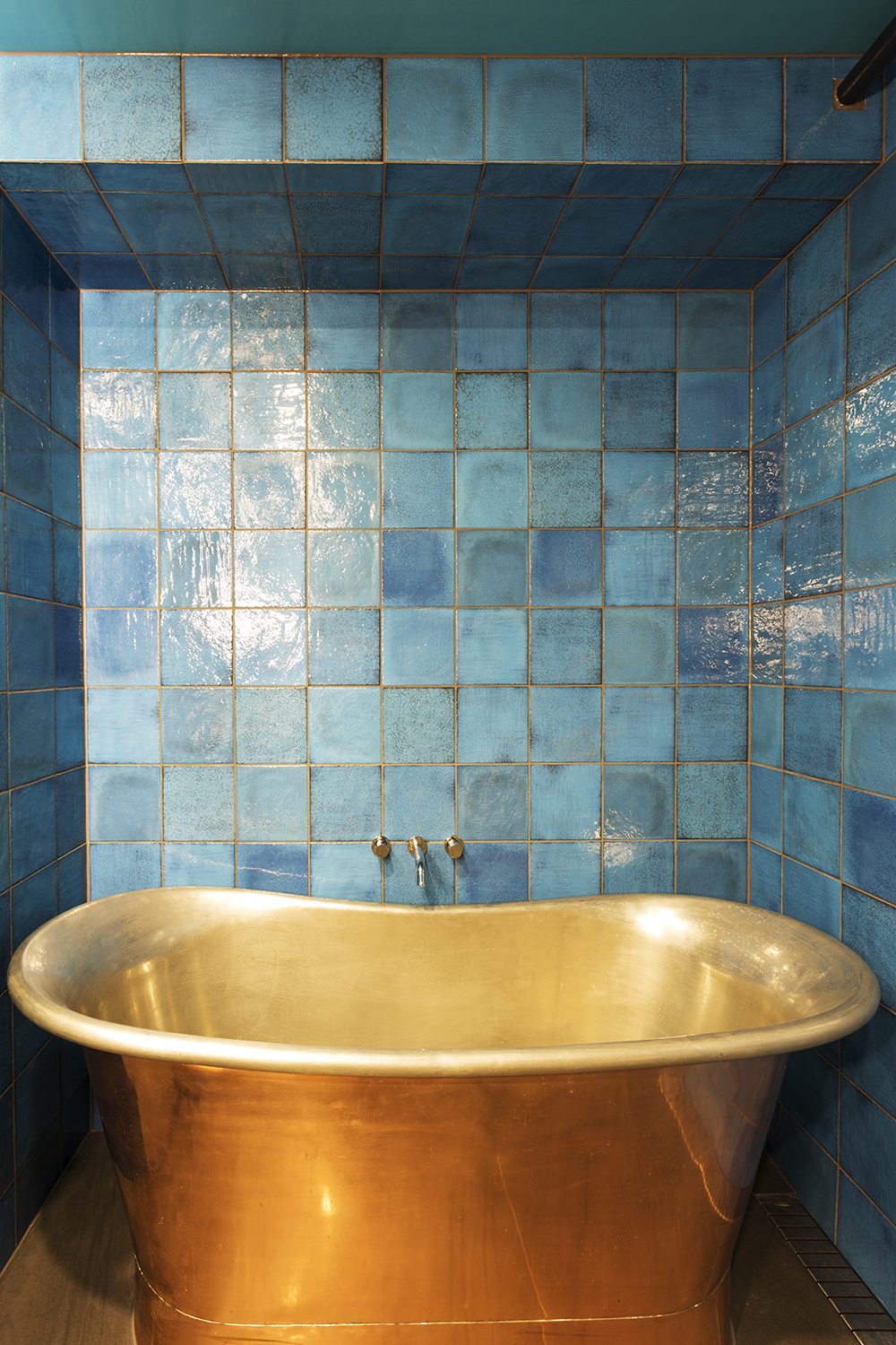 Bathroom design melbourne interior designer copper bath