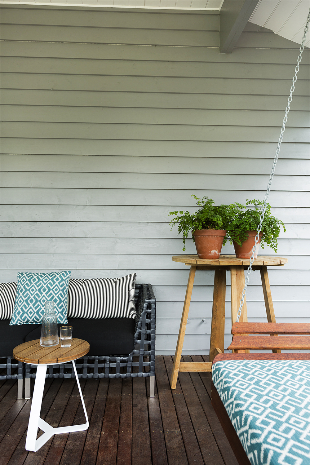 Outdoor room design by Melbourne interior designer Meredith Lee