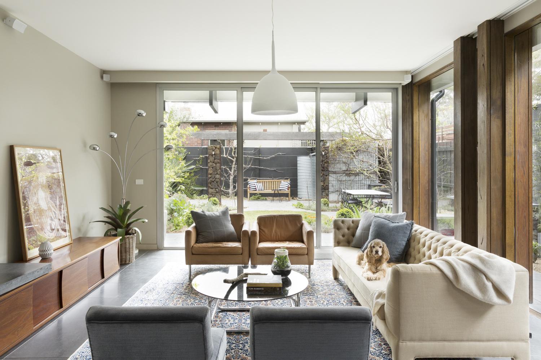 Interior designer Melbourne Clifton Hill Interior decorator Living room design house design ideas Arthur G