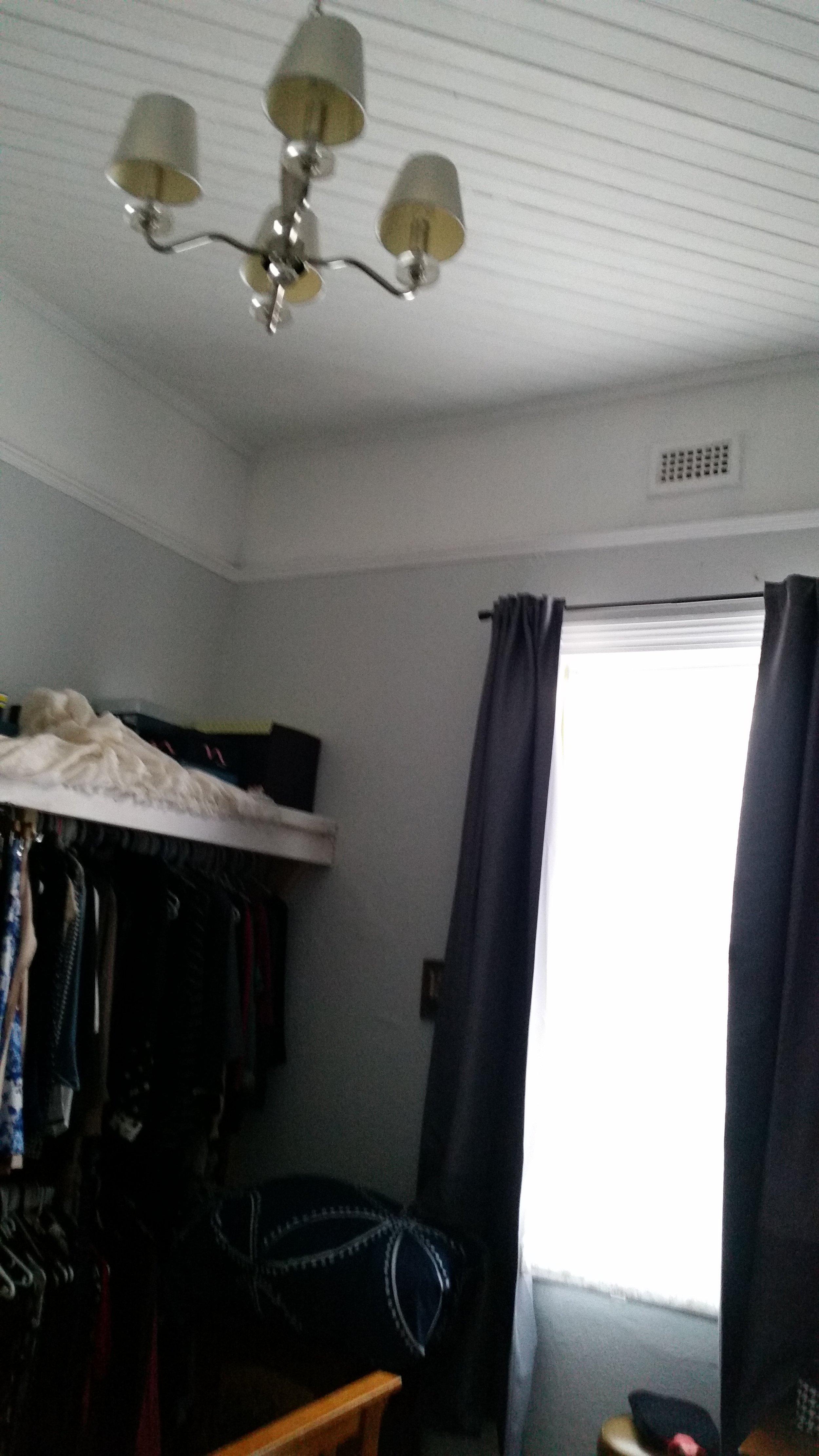 Bedroom design before renovation by Melbourne interior designer Meredith Lee