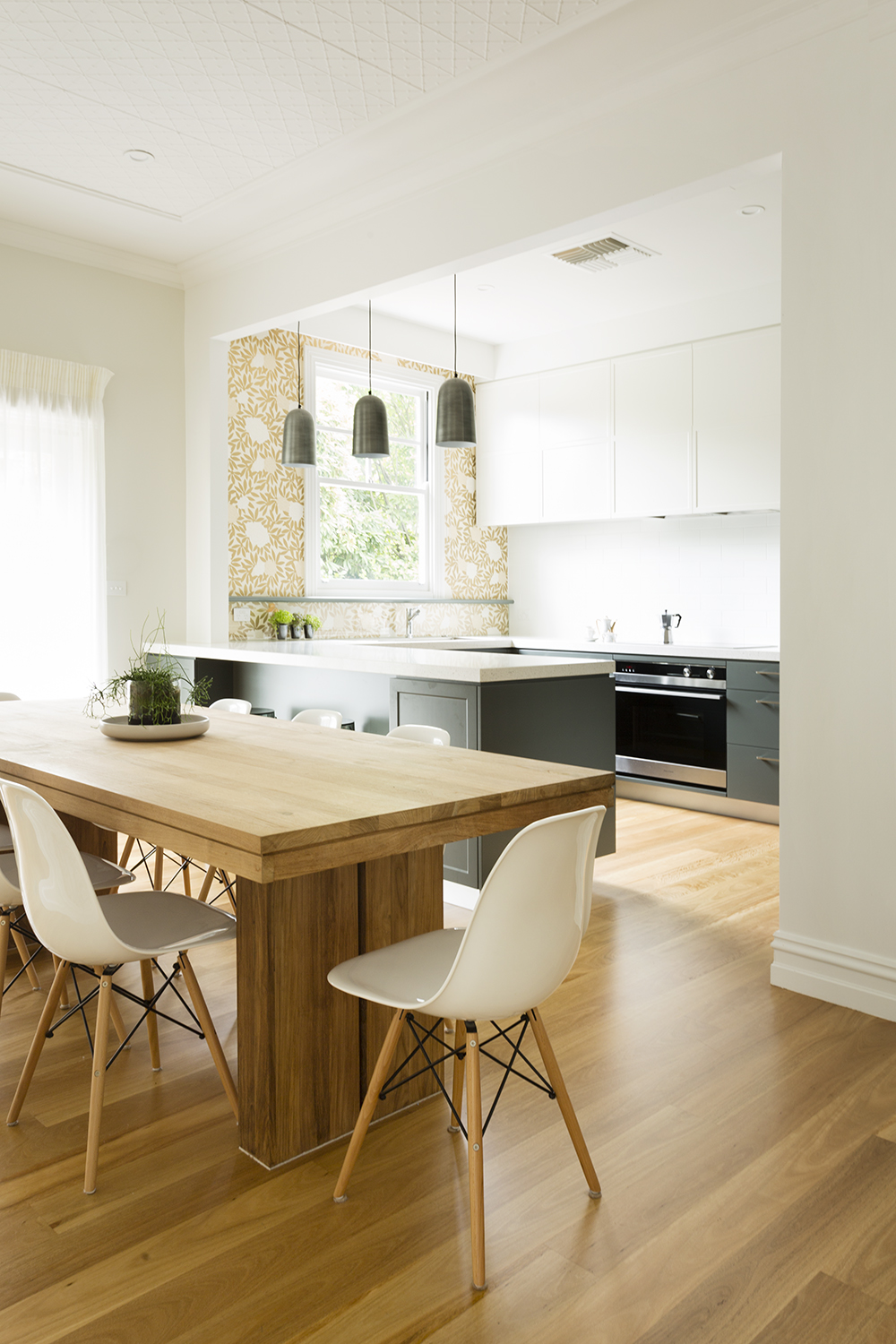 Croydon kitchen renovation by kitchen designer and interior designer Melbourne