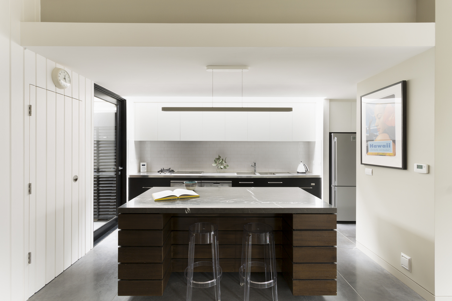 Kitchen design Clifton Hill by interior designer Melbourne.