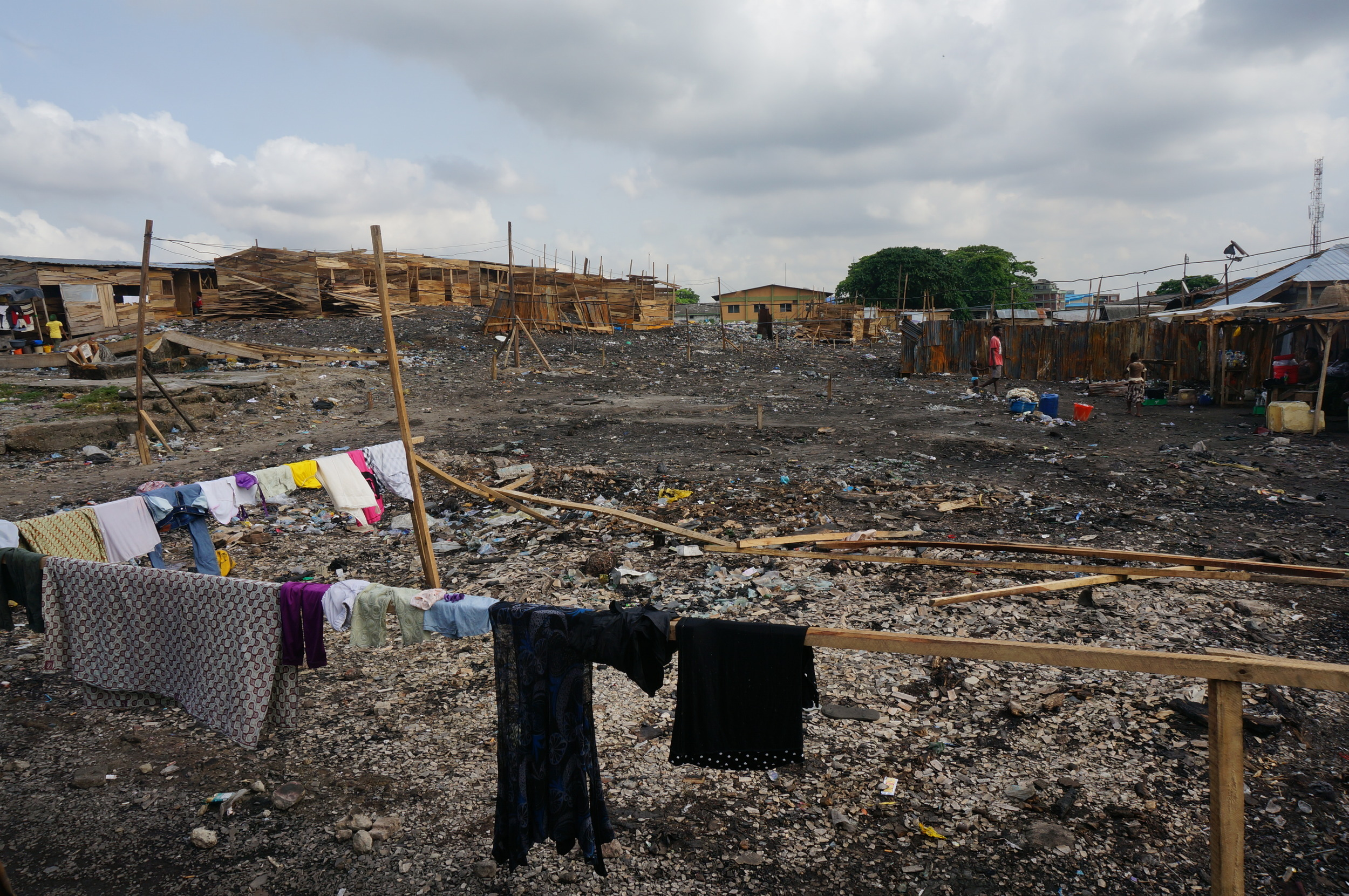 Urban poor communities frequently suffer from natural and man-made disasters, including fire outbreaks and flooding.
