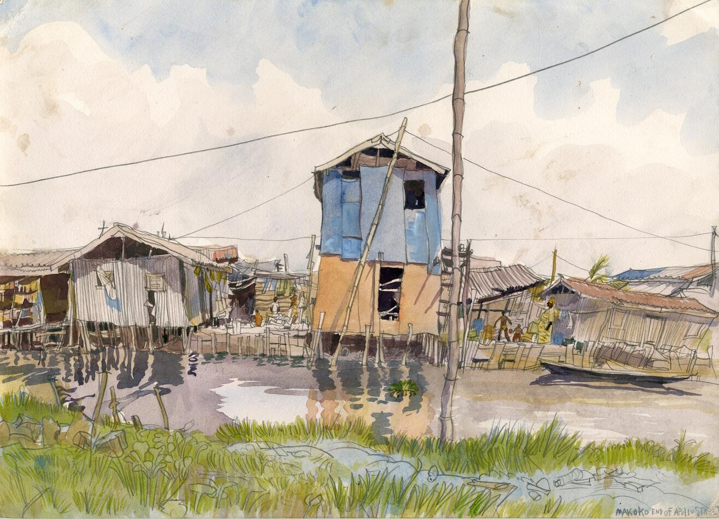 Makoko Waterfront community, Lagos