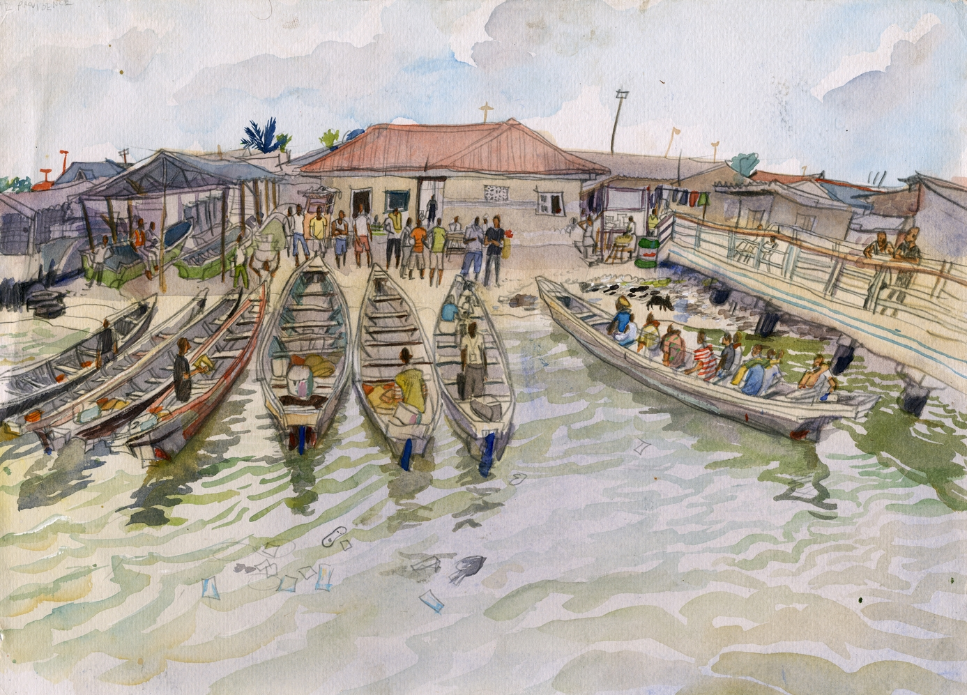 Sabokoji Island community, Lagos