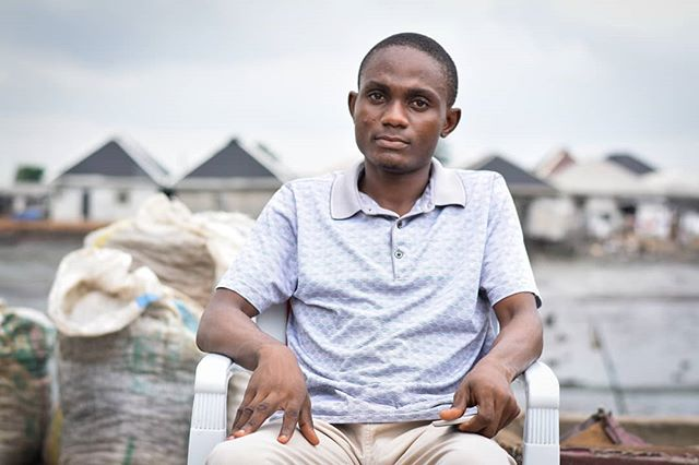 """""""I have stayed in this community for 3years now, when it comes to the aspect of security, potable water and the leadership, it's not well organized.  I'm a 200 level student and I'm studying political science at Ignatius Ajuru University Of Education. I want to become a political scientist. I'm working so hard to be a leader and become the best leader in the aspect of governing and practices, all the more reason I'm pushing forward to learn more both within and outside my school premises. I train myself by reading and studying. I hope to see myself in Aso Rock or somewhere bigger than it ten years from now."""" - Victor (Ibiapu-Polo Community) __________________________________________ #humansofph #portharcourt #photography  #community  #media #photooftheday #canon #portrait #stories #documentaryphotography #documentary #justice  #portraitphotography #journalist #journalism #portraits #people #art #KnowYourCityTV @knowyourcity.tv #SDI @sdi_net #UrbanPovertyFighter @justempower @legends.of.lagos"""