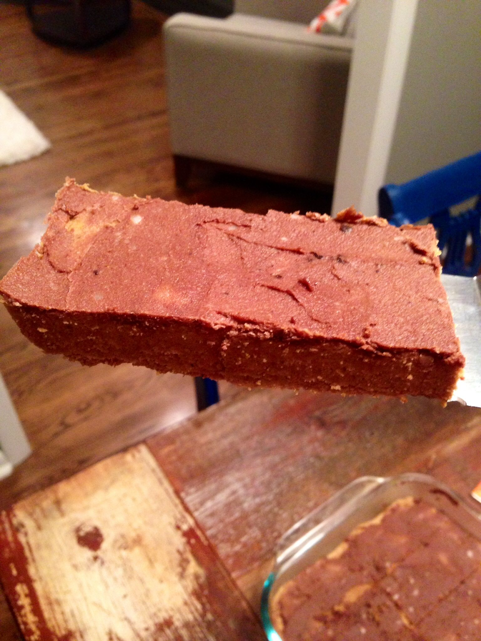 Recipe: Pumpkin Protein Bars (with Chocolate Frosting!) from Balance in the 'Burbs. Vegan. Gluten-free  . Delicious.