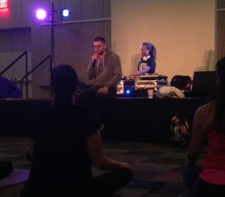 "MC Yogi, ""Mantras, Beats and Meditations"" workshop at Kansas City Yoga Festival. — Balance in the 'Burbs"