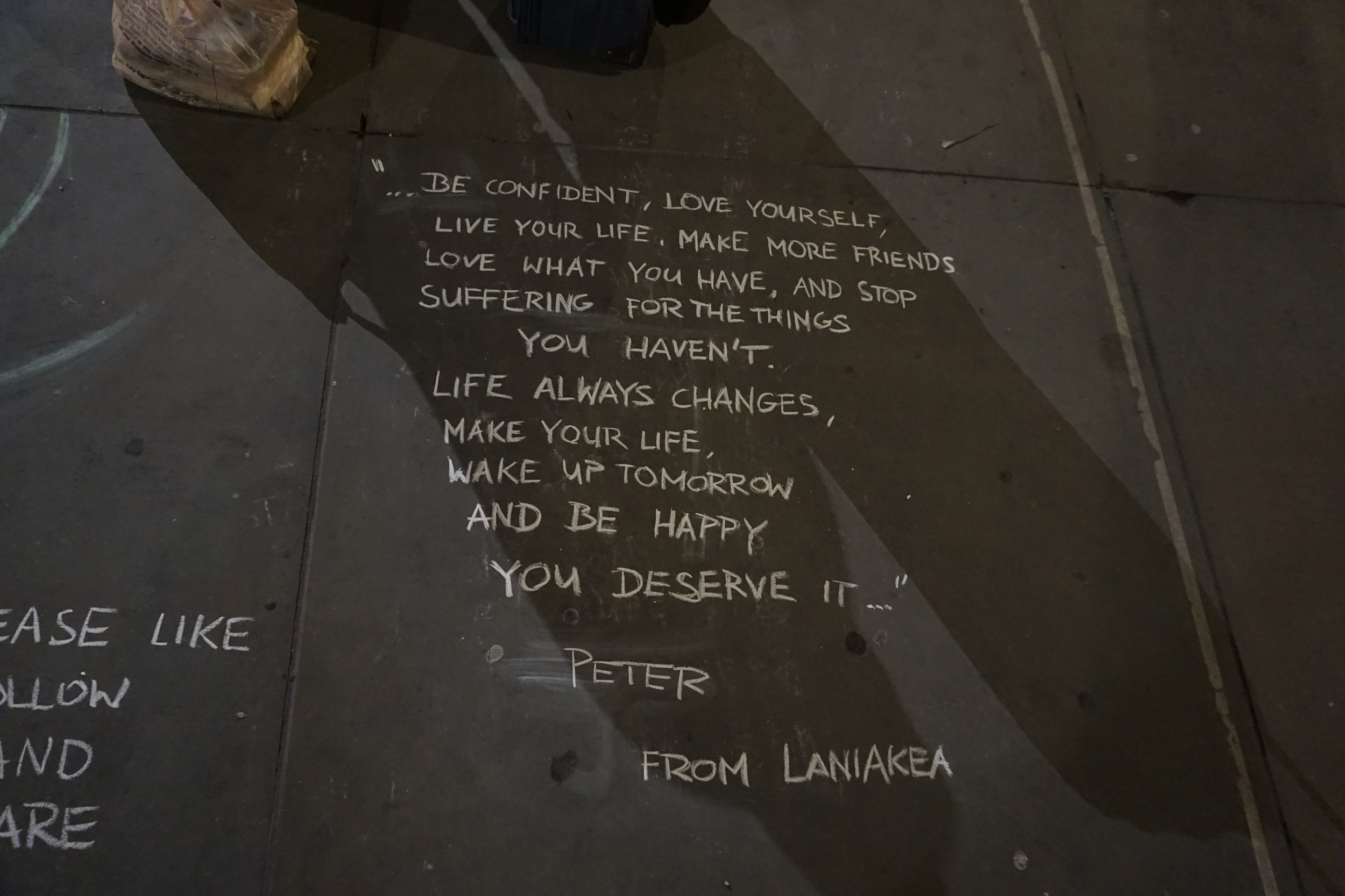 Passed this on a sidewalk in London and loved it