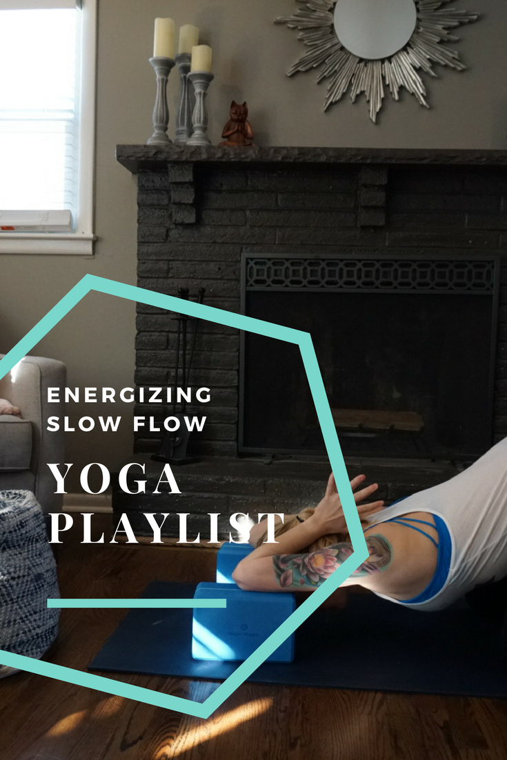 Energizing slow flow yoga playlist for power/vinyasa yoga