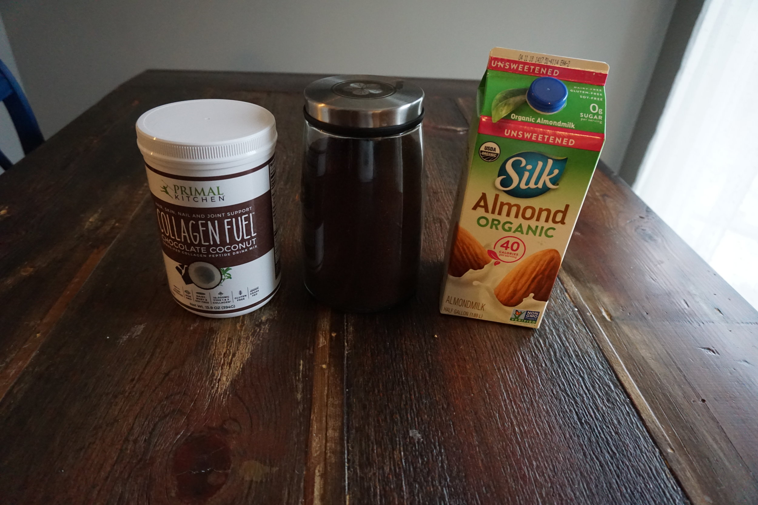 Chocolate Coconut Protein-Packed Collagen Mocha Ingredients