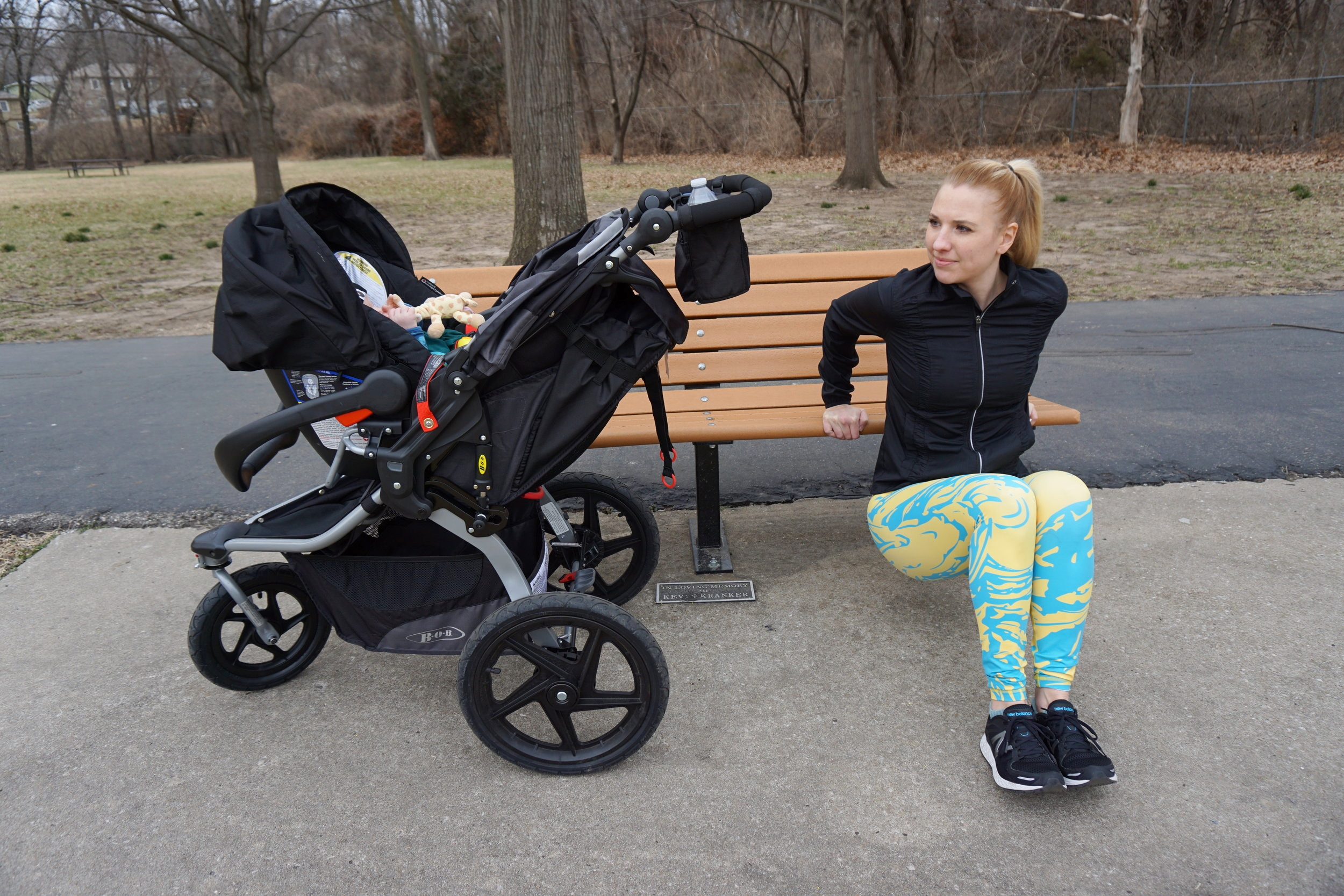 Finding time for fitness as a new parent + a postnatal yoga flow