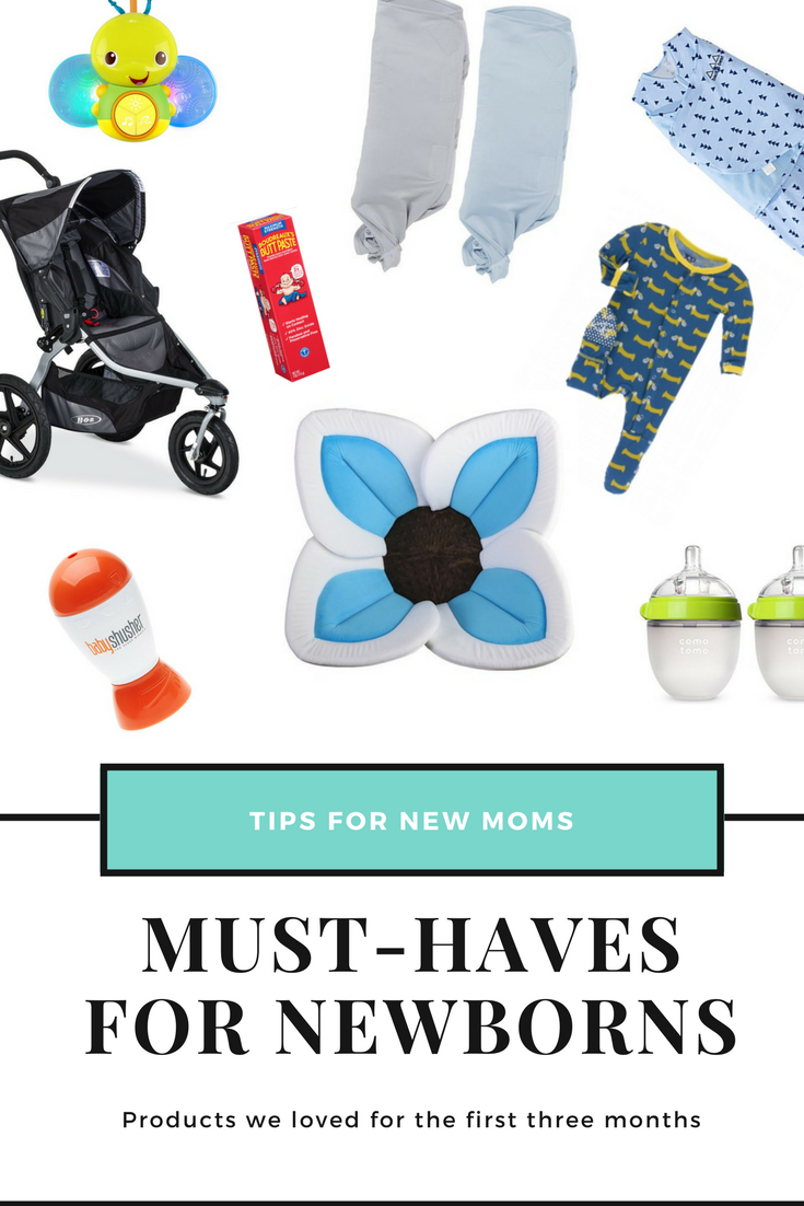 Our favorite baby products for months 1-3 - Must-haves for newborns
