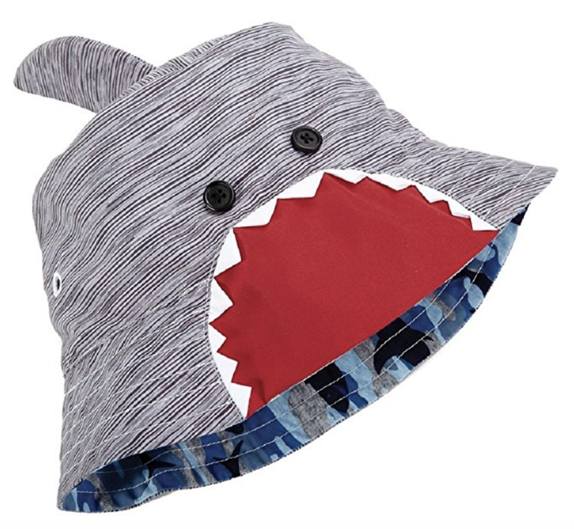 This shark hat is $18 on  Amazon