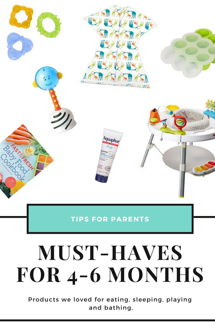 Must-have products for baby's months 4-6 - Cara McDonald