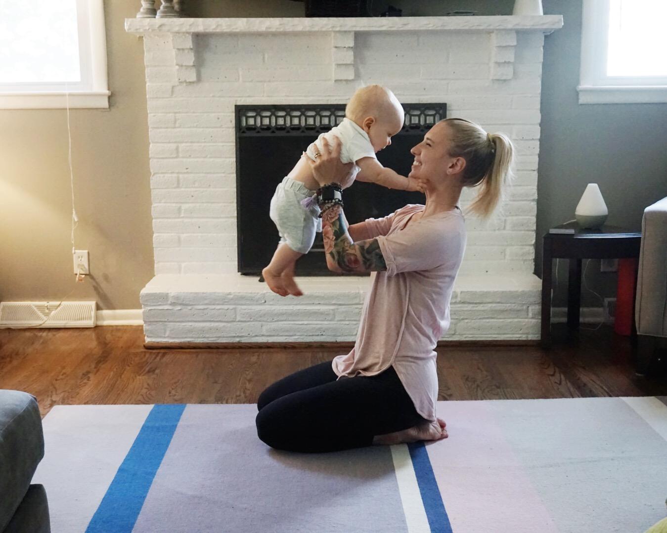 gratitude - mom and baby