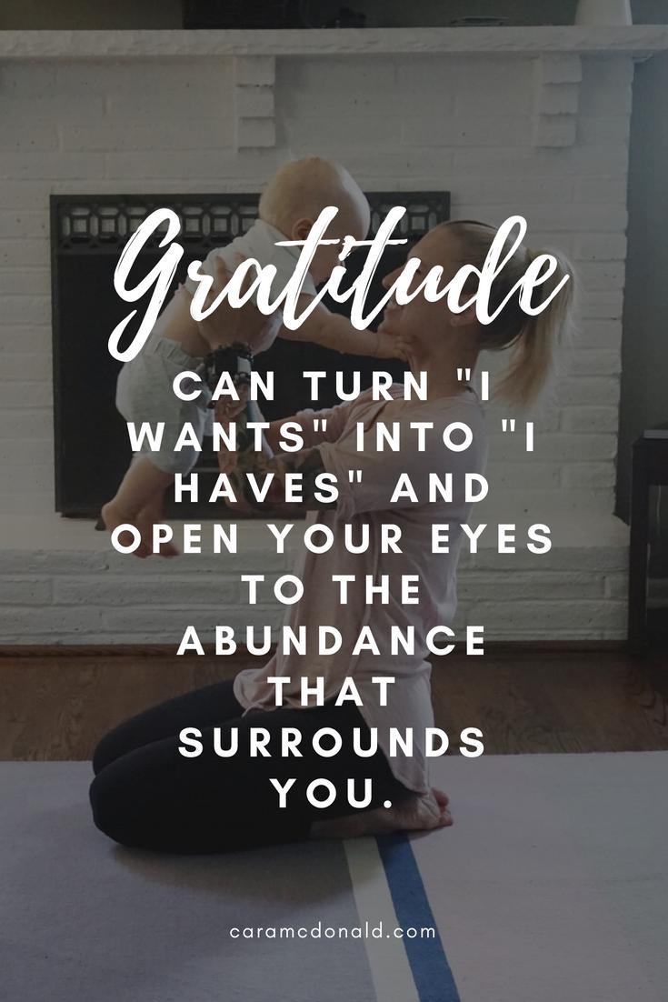 Authentic gratitude versus obligation and a yoga flow for harvesting appreciation