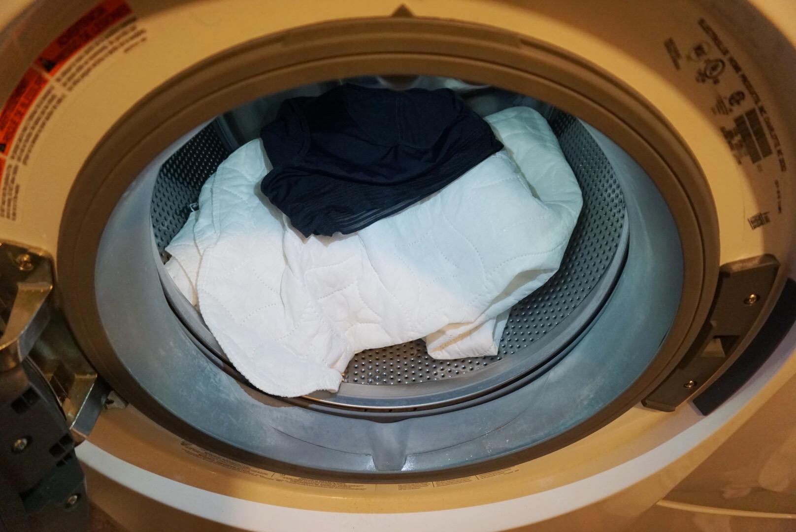Test: Washing THINX with whites