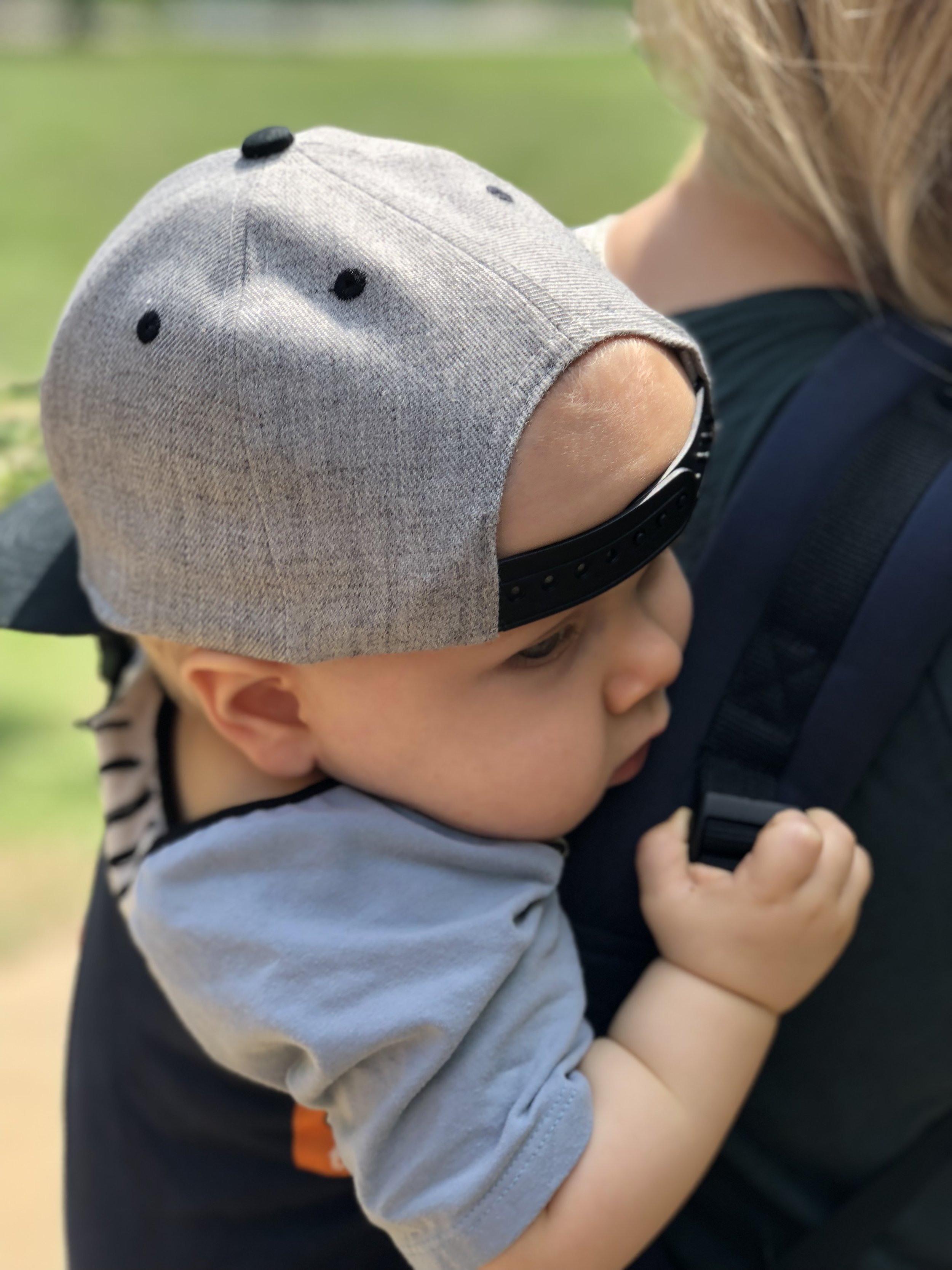 baby in Tula carrier