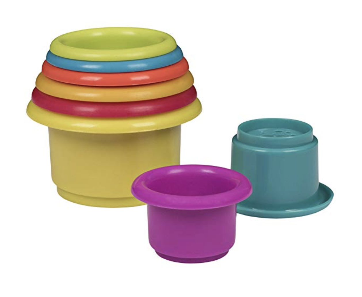Stacking Cups - Our favorite baby products for months 10-12