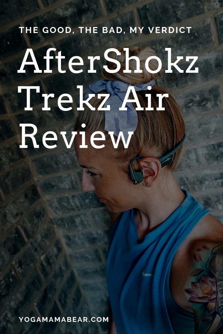 AfterShokz Trekz Air bone-conduction headphones review