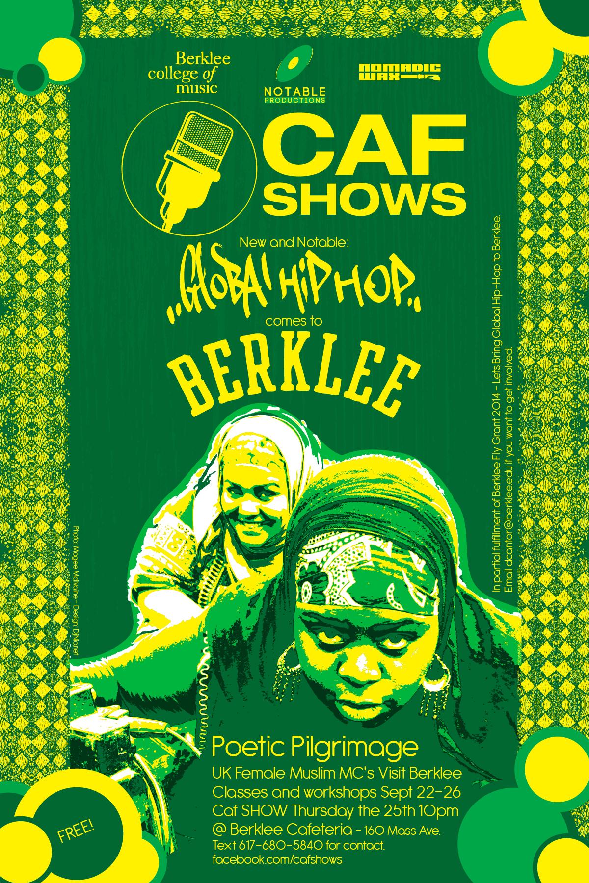 Global Hip Hop Event at Berklee College