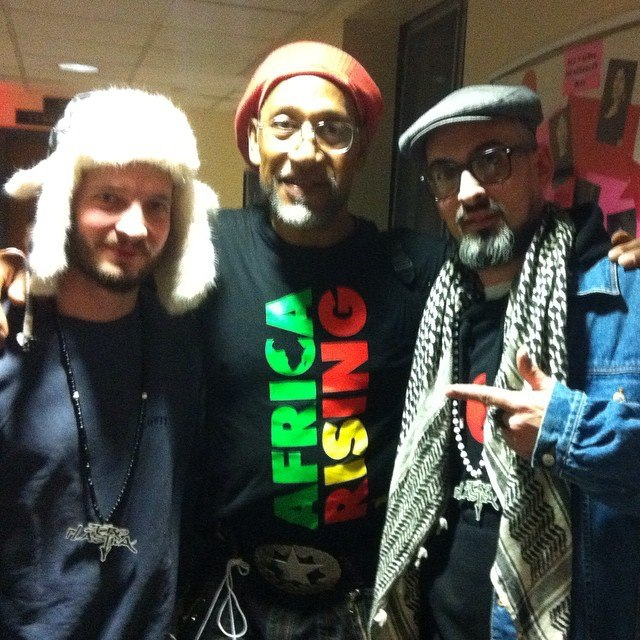 Zero Plastica and Dj Kool Herc: Hip Hop dreams come true sometimes.