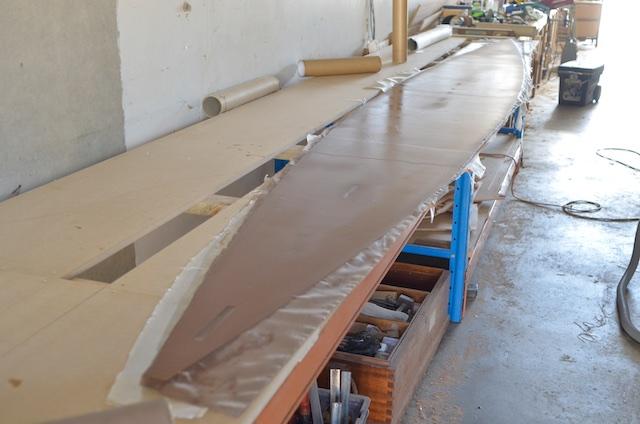 Sheathing bottom/sole panel