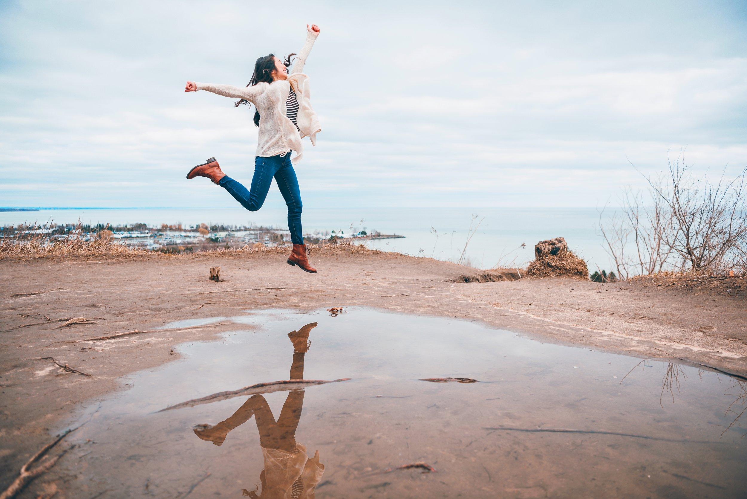 anita wing lee jumping Toronto mark anthony Diaz