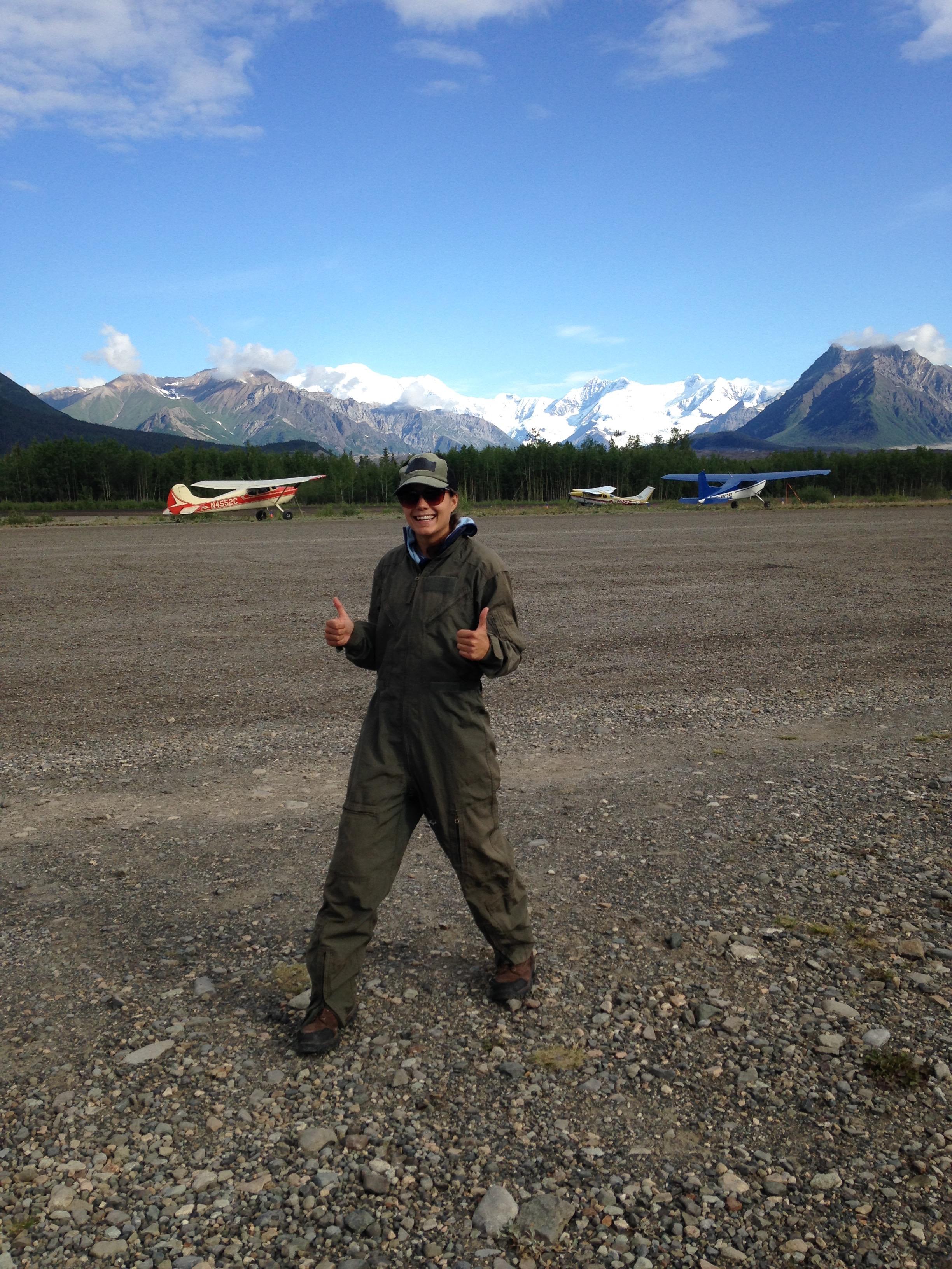 Flight suit!