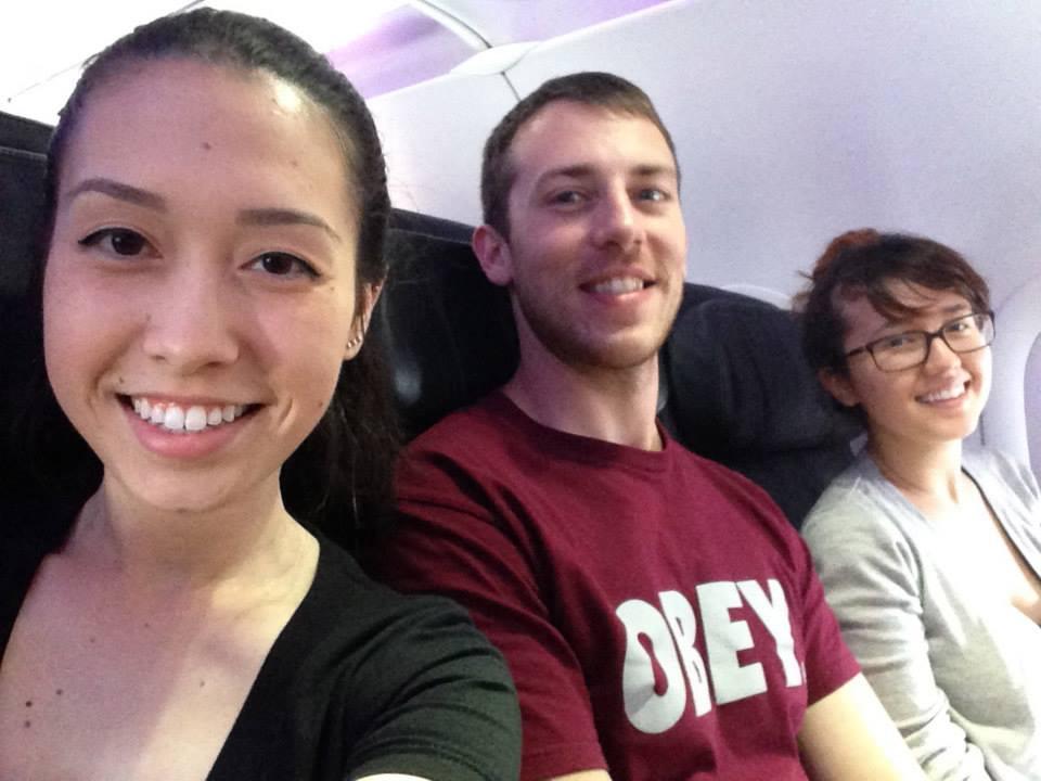 Flying Virgin America!