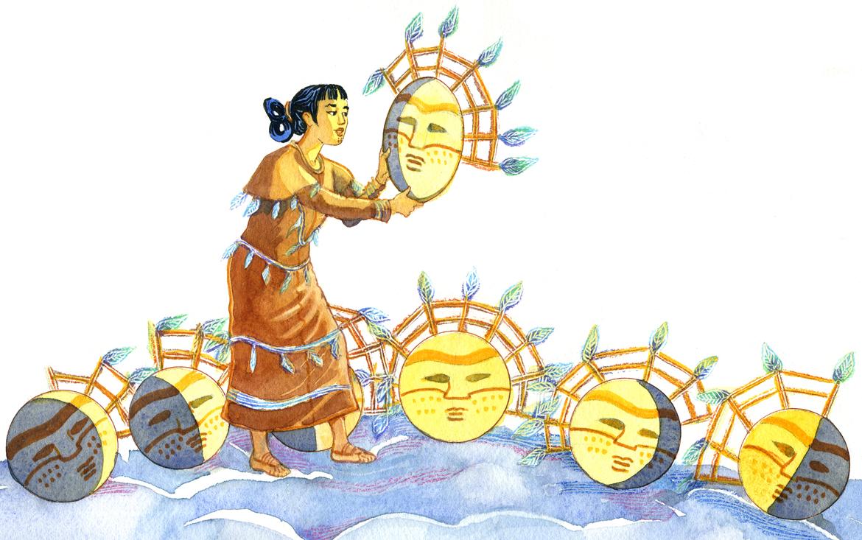 Illustration by Cheryl Kirk Noll