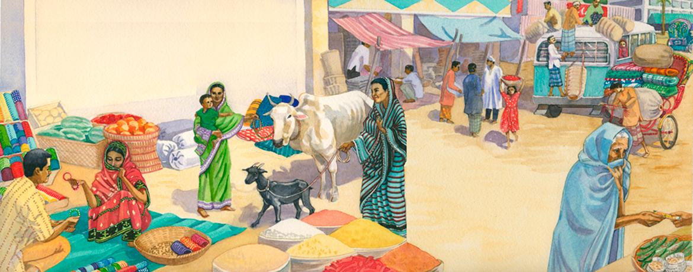 Market in Bangladesh