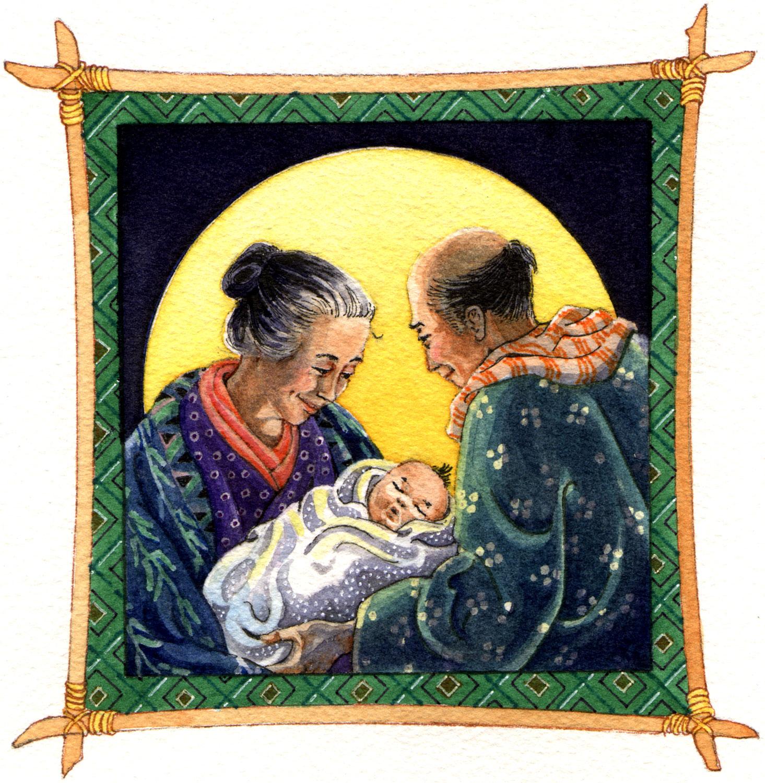Japanese Folktale: The Snow Baby