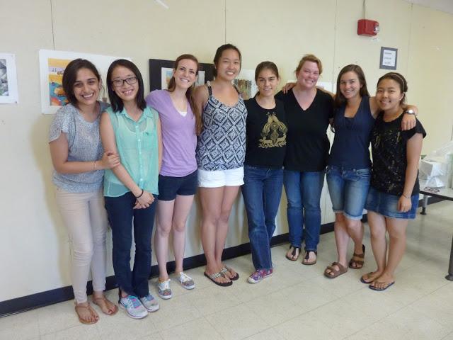 Summer Students, 2013