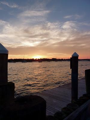 A beautiful sunset in RI