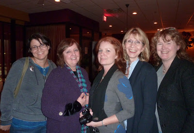 Liz Goulet Dubois, Sue Fraser-Perotta, Marlo Garnsworthy, Mary Pierce, Lynda Mullaly Hunt