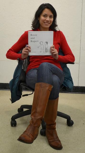 Sarita wrote her original manuscript in Marlo Garnsworthy's Children's Book writing class through RISD CE.