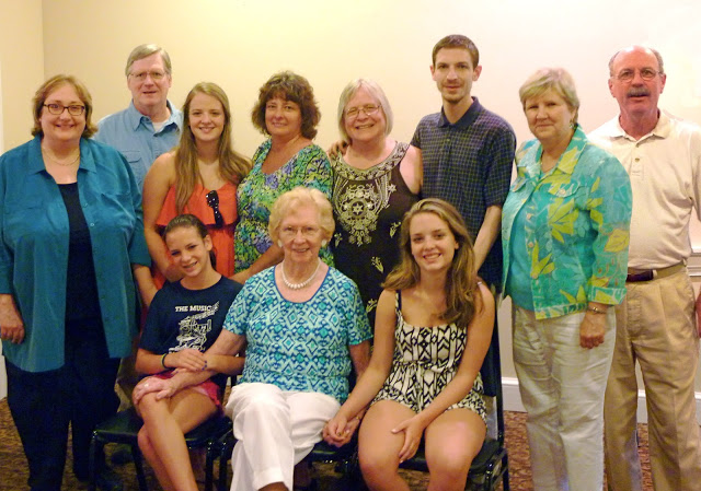 It was a treat to gather with most of my family, as well as our family friend, Judy