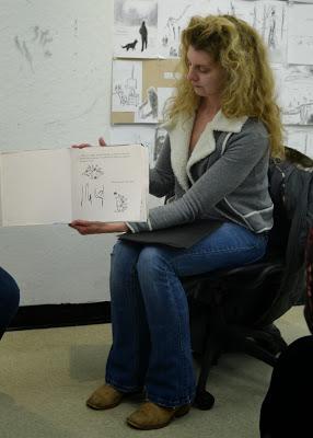 Karen rewrote a Grimm's folktale.