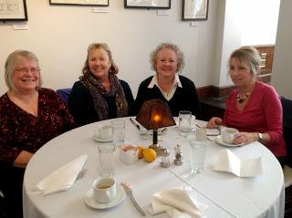 Cheryl Kirk Noll, Sharon Vargo, Mary, Ellen Appleby