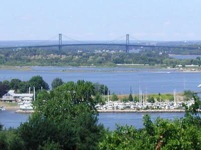 A view of Aquidneck Island in RI