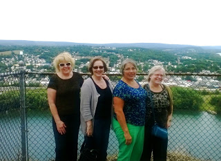 Bert, Kim, Lyd and me, with the Susquehanna