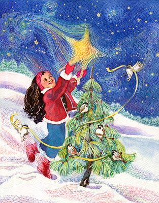 Happy Holidays © Cheryl Kirk Noll